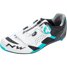 Northwave Storm Carbon Shoes Herren white/blue